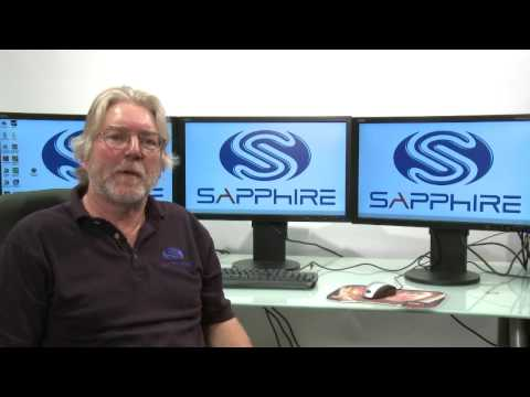SAPPHIRE AMD ATI Eyefinity set up with Bill Donnelly