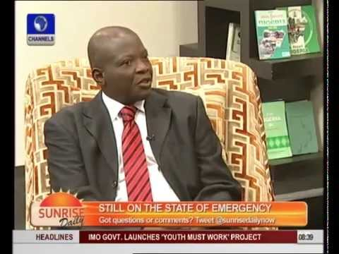 Expert Profers Ways To Curb Isecurity and Corruption In Nigeria pt 1