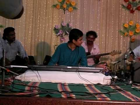 Hindi film songs medley on keyboard by Sathya