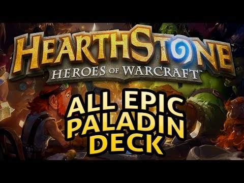 Hearthstone: All Epic Paladin - Lord of the Gimmicks