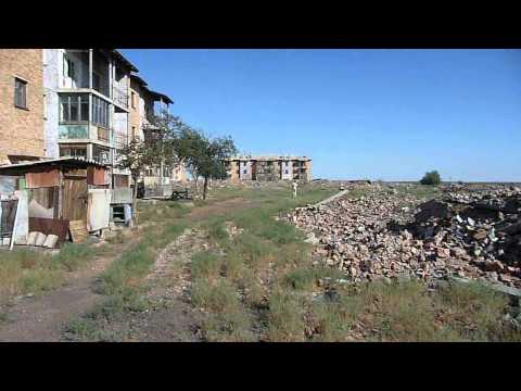 Поселок Мирный в Казахстане / Video town Mirny Kazakhstan/ 22.07.2011 Part 2