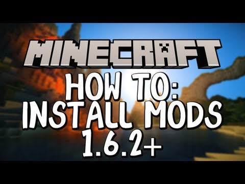 Minecraft 1.6.2+ | How to Install Mods (WINDOWS)
