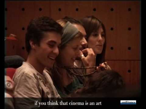 On set with french cinema - Master Class with Agnès Jaoui