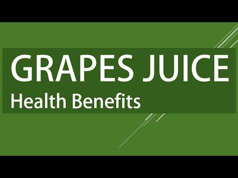 Grapes Juice Health Benefits - Amazing Benefits of Grapes Juice - Grapes Juice for Good Health