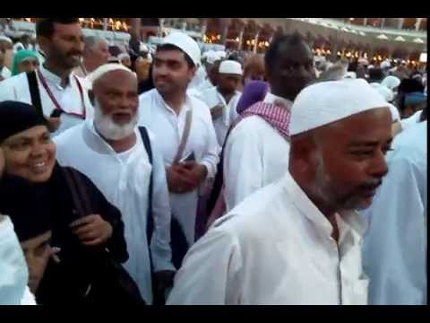An Angel Performing Tawaaf at Kabah during Hajj 2012 part 2