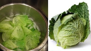 See What Happens When You Drink Cabbage Water Everyday