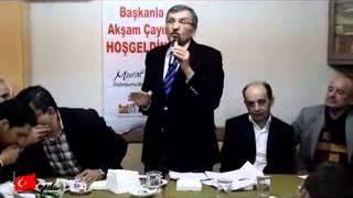 Başkanı Murat Aydın'la Akşam Çayı Yenidoğan Mahallesindeydi