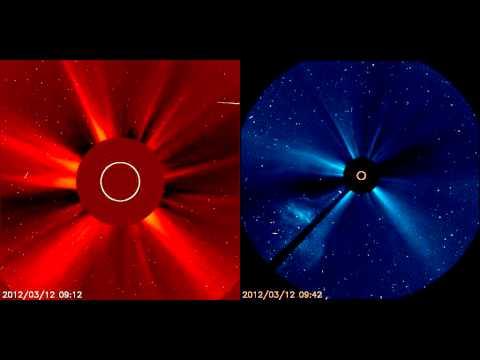 Solar Activity 2012 - LASCO C2+C3 (12 Mar 2012)