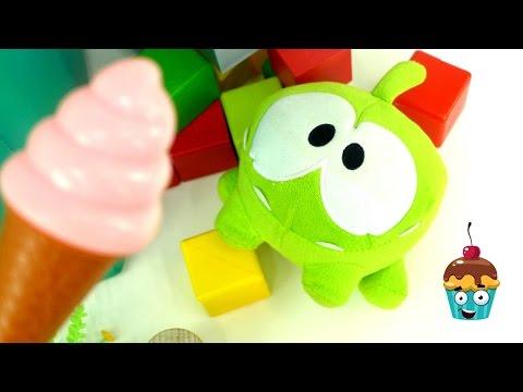 Toy videos. Om Nom & ice cream.
