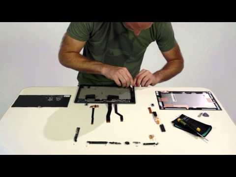 Sony Xperia Z2 Tablet Build Up