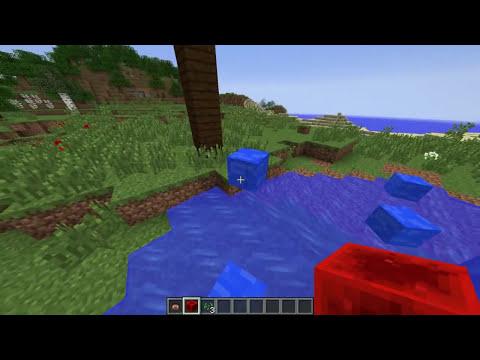 GOTAS DE AGUA | Decoración Minecraft