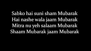 (LYRiCS)Mubarakan Title Song Lyrical Video – BADSHAH , Yash , Juggy D
