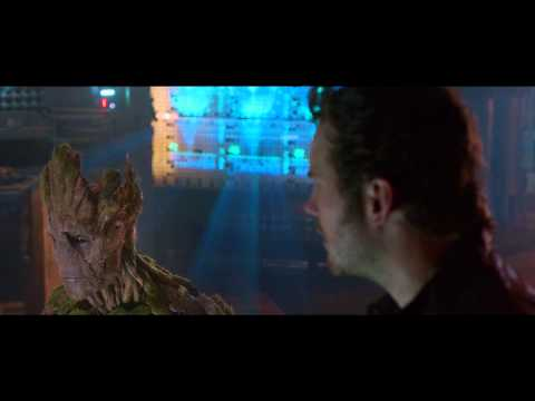Guardians of The Galaxy | official clip #2 US (2014) Star Lord Groot Rocket Raccoon