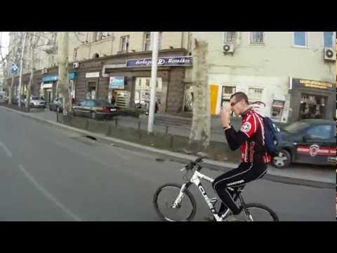 Cycling in Tbilisi HD