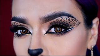 Leopardo Maquillaje Gatita Sexy Cat Eyes Halloween | LoLo Love
