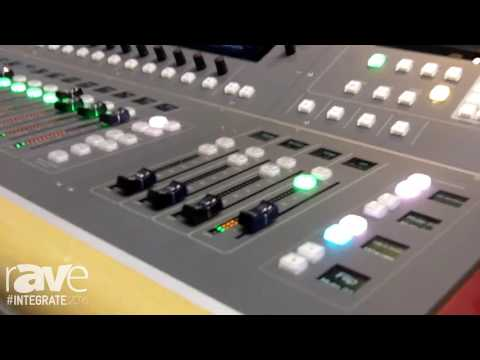 Integrate 2016: Cadac Shows Its 64-Channel CDC Six Digital Console on the Hills AV Stand