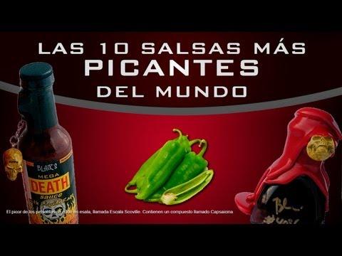 Las 10 salsas más picantes del mundo