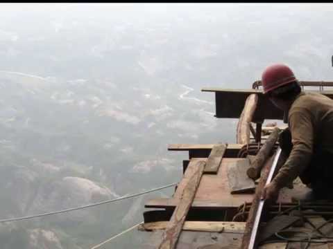 Builders in The Sky - Shifou Mountain Footpath Construction