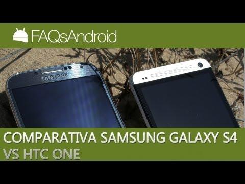 Comparativa Samsung Galaxy S4 vs HTC One en español   FAQsAndroid.com