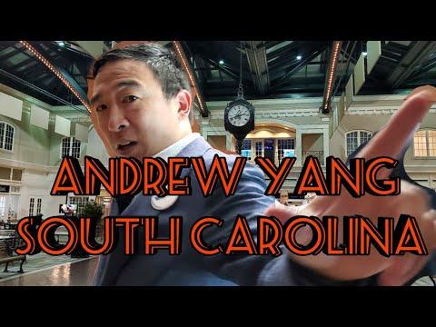 Andrew Yang Full S.C. Speech!