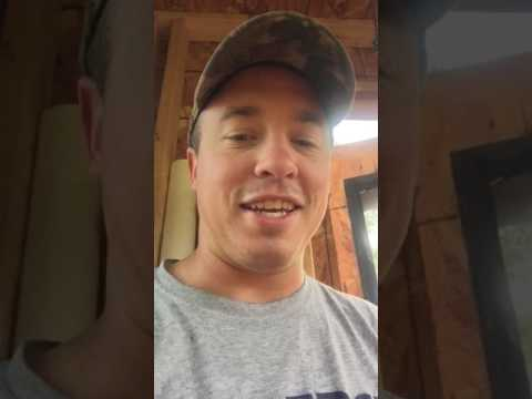 DIY Deer Stand - Window. Scent-proof Urinal Ideas - Northern Wisconsin Whitetails