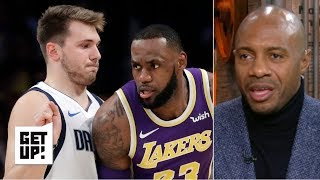 Luka Doncic's numbers are like LeBron James - Jay Williams   Get Up!