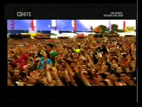 The Script - The Man Who Can't Be Moved Live @ Oxegen 2009
