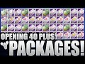 Destiny: Opening 40+ Packages - Crucible, Vanguard, Faction, Sterling Treasure & More!