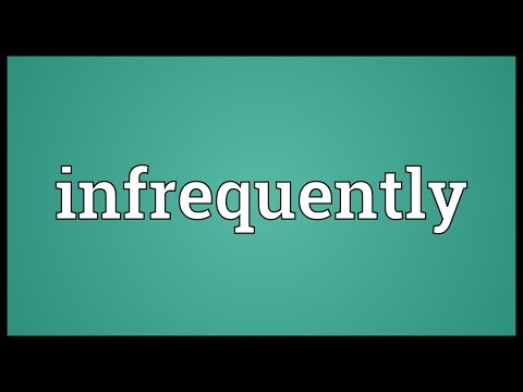 Header of infrequently