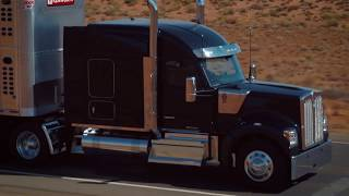 ON THE TRUCK KENWORTH W900 INTERSTATE AMARILLO TEXAS