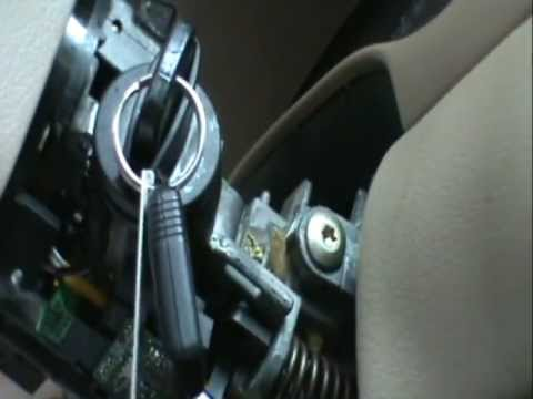 Key stuck in Mustang ignition switch