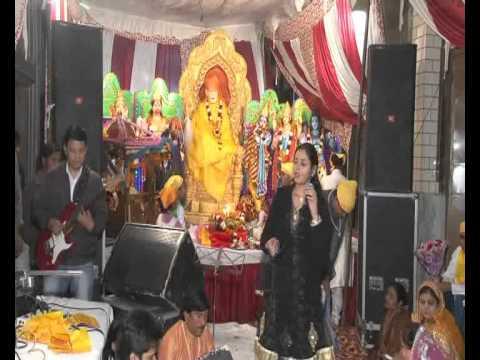 Rashmi Bhardwaj singing at Sai Sandhya - Tri Nagar