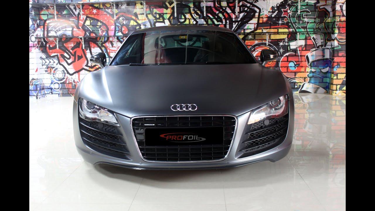 Charcoal Grey Metallic Car Paint