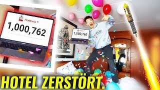 1 MILLION Abonnenten in 400 TAGEN! **PARTY**