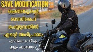 Save Modification   My opinion on Modified Bikes   MT15 Malayalam Vlog