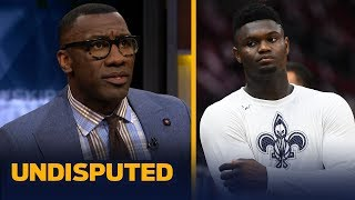 Shannon Sharpe wasn't impressed by Zion's performance in 2nd preseason game | NBA | UNDISPUTED