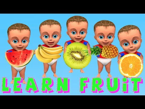 Learn Colors for Children Body Paint Finger Family Nursery Rhymes Song Learning Kids Video