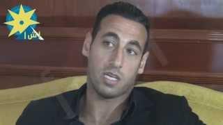 بالفيديو: اللاعب الفلسطيني رمزي صالح :النادي الأهلي هو الذي صنعني