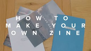 Cheapest way to make your own Photography Zine