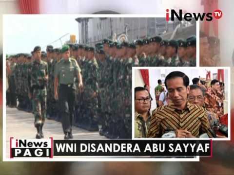 Tumpas Abu Sayyaf, Presiden Jokowi undang panglima militer Filipina dan Malaysia - iNews Pagi 27/04