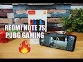 Xiaomi Redmi Note 7S PUBG Gaming Review  Heating And Battery Drain