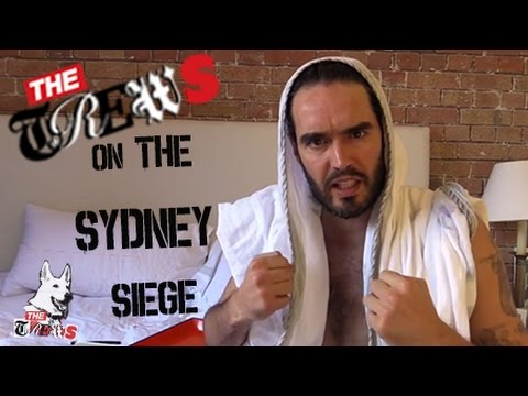 Don't Let Sydney Siege Claim Your Freedom: Russell Brand The Trews (E212)