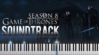 Game of Thrones | Season 8 |  Trailer Theme| Crypts of Winterfell (HBO) | Synthesia