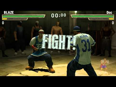 Def Jam Fight For Ny : The Takeover Psp Gameplay video