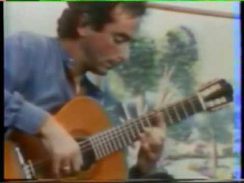 Rare Guitar Video: Guy Lukowski plays Danza Guarania by Agustin Barrios