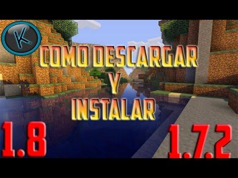 Minecraft 1.8/1.7.2 - Como Descargar e Instalar Shaders MOD - ESPAÑOL