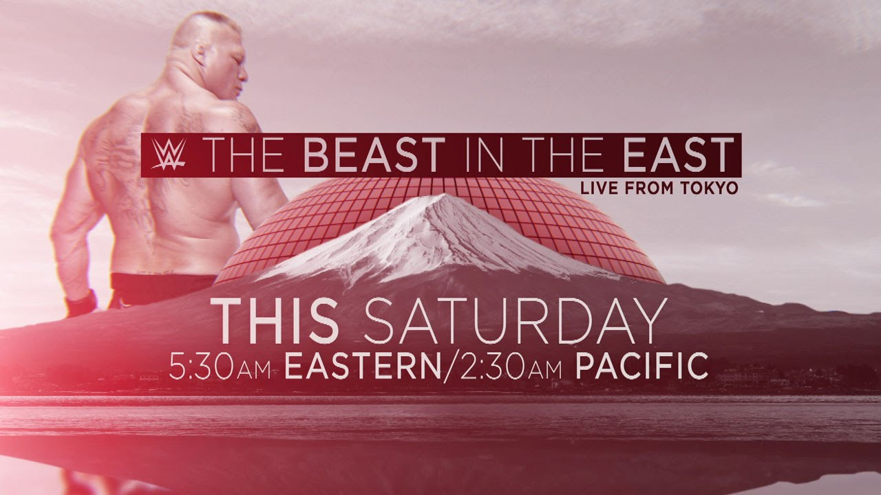 Curiosidades sobre The Beast in the East