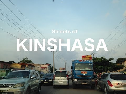 Streets of Kinshasa - or where I've been