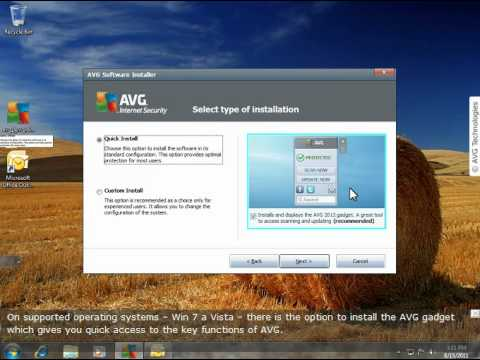 AVG 2012 - How to Install AVG 2012