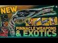 Destiny 2 EVERY Exotic & NEW Pinnacle Weapons (Season of Opulence Breakdown)